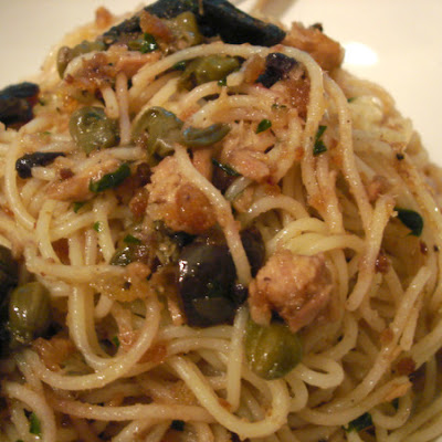 Pasta with Tuna & Lemon Sauce