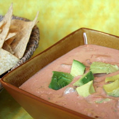Spicy Hummus- Avocado Dip