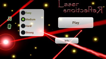 Screenshot of Laser Reflections