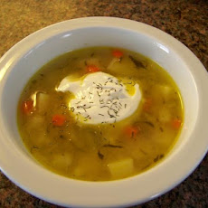 Cynthia's Pickle Soup