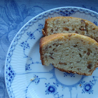 Toasted-Walnut Teacake with a Fragrant Lemon-Honey Glaze