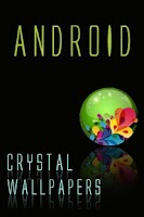 Screenshot of Crystal Android Wallpapers