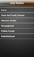 Screenshot of Jula Radio Jula Radios