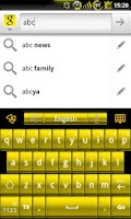 Screenshot of GOKeyboard Theme - LiquidGold