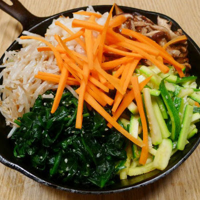 The Occasional Vegetarian's Bibimbap