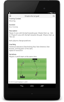Screenshot of Soccer Training Lite