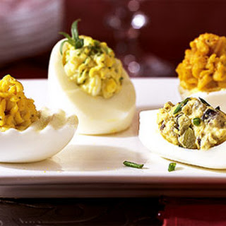 Smoked Oyster-Stuffed Eggs