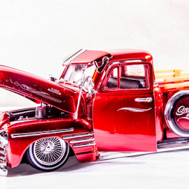 red car toy by Eric Sibuea - Artistic Objects Toys ( car, diecast, toy car, eric salvasa,  )