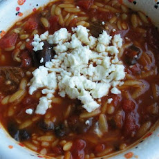 Beef and Orzo Soup