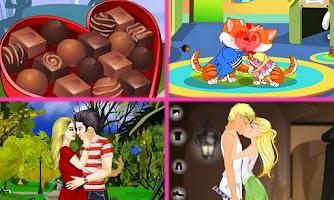 Screenshot of Juegos de amor