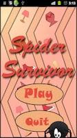 Screenshot of Spider Survivor