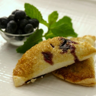 Easy Blueberry Coconut Hand Pies