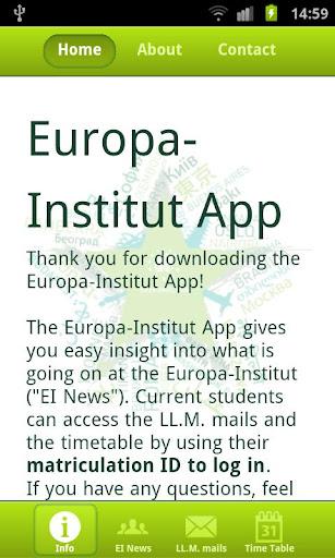 Europa-Institut App