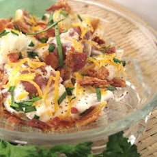 Easy Loaded Baked Potato Salad