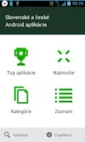 Screenshot of SK & CZ Android aplikacie