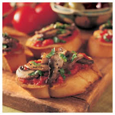 Bruschetta with Portobellos