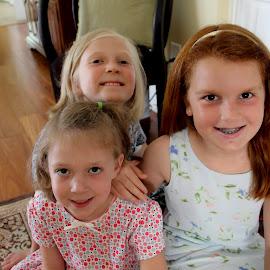 Girlfriends by Marjorie Bazluki - Babies & Children Children Candids (  )