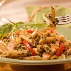 Toasted Walnut & Pesto Pasta