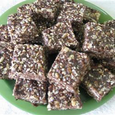 Seeded Chocolate Energy Bars