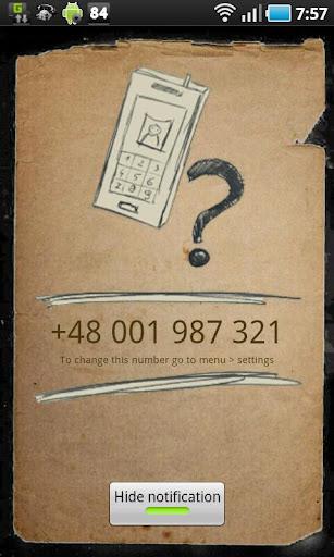 My Phone Number