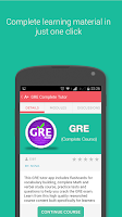Screenshot of GRE - Complete Prep