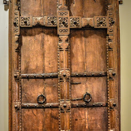 by Lisa Frisby - Novices Only Objects & Still Life ( doors, wooden, gateway, wood, street, door, rustic, antique, aged )