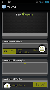 i am Android ZOOPER SKIN - screenshot