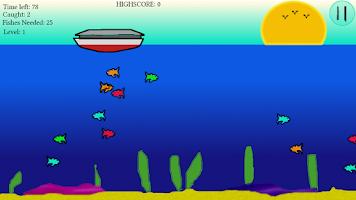 Screenshot of Skim Bob gone fishing