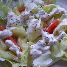 Creamy Blue (Bleu) Cheese Dressing
