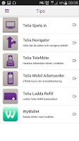 Screenshot of Mitt Telia