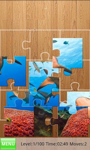 サメジグソーパズル