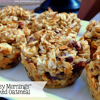 """Busy Mornings"" Baked Oatmeal"
