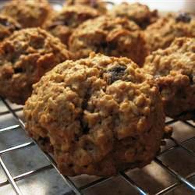 Cranberry, Orange and Oat Cookies
