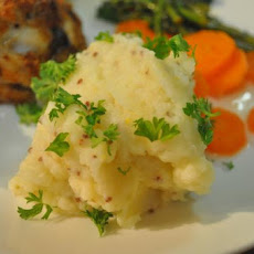 Buttermilk Mashed Potatoes With Country Mustard