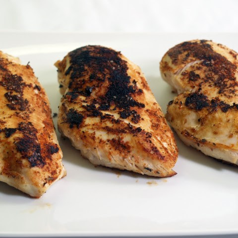 Basic Blackened Chicken