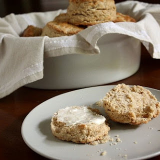 Brown Sugar Oat Scones
