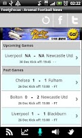 Screenshot of Man City - Live Scores & News