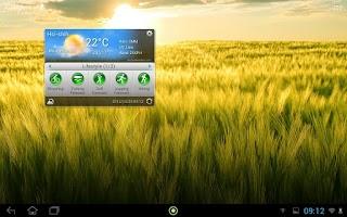 Screenshot of Acer Life Weather