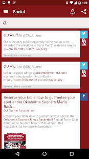 OU Alumni Association - screenshot