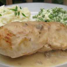 Baked Chicken & Gravy