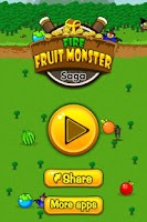Screenshot of Fruit Fire Monster Saga