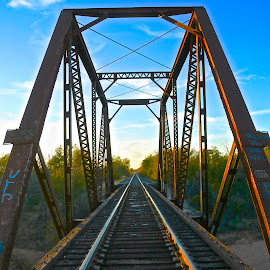 by Kathy Suttles - Transportation Railway Tracks