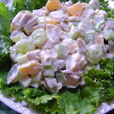 Orange Fruit Chicken Salad
