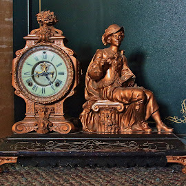 Grandfather's Clock by Cheryl Petretti - Novices Only Objects & Still Life ( object )