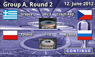 Screenshot of EURO 2012 Game Full