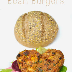 Smoked Chilli Bean Burgers