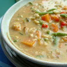 Easy, Creamy Vegetable Soup
