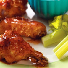 Linda's Apricot Chicken Wings