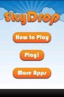 Screenshot of SkyDrop