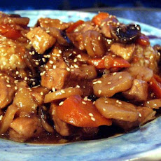 Spicy Chinese Pork for the Crock Pot